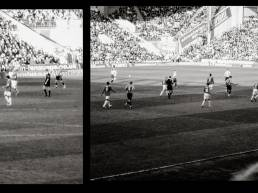 Imagebild Fotografie Shooting Fotoshooting Sheffield UK Clive Egginton Reportage black and white Schwarz Weiß England gzwitscher Grafikdesign Bocholt soccer stadion